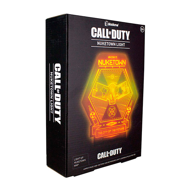 Lámpara LED Nuketown Call of Duty