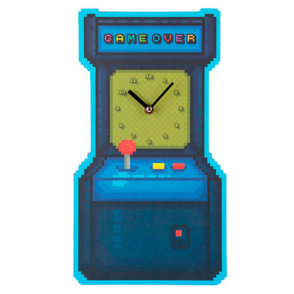 Reloj de Pared Juego Arcade Game Over