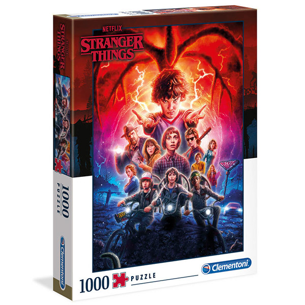 Puzzle Stranger Things Póster Temporada 2 1000pz